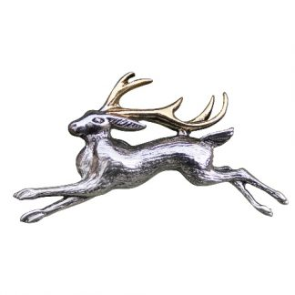 The Jackalope Brooch