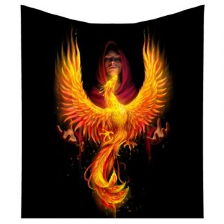 Phoenix Rising Throw