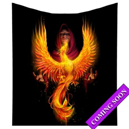 Phoenix Rising Throw Coming Soon
