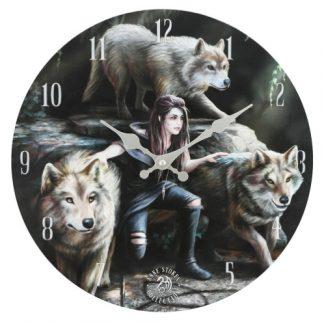 Power of Three Clock