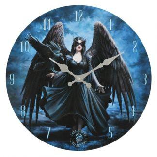 Raven Clock
