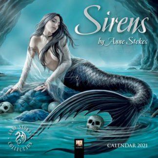 Sirens Mini Anne Stokes Calendar 2021