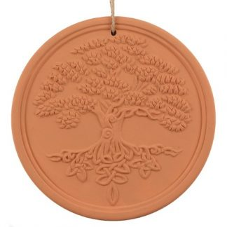 Terracotta Tree of Life Plaque