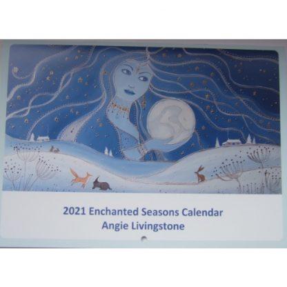 Angie Livingstone Enchanted Seasons Calendar 2021
