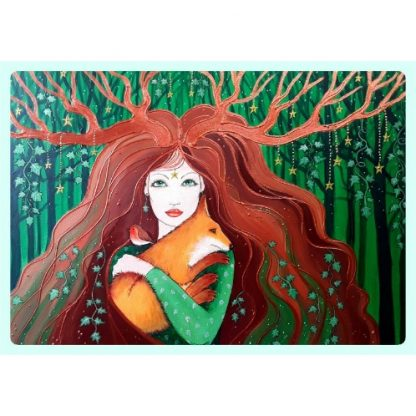 Angie Livingstone Enchanted Seasons Calendar 2021 October