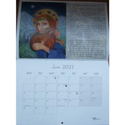 Hannah Willow Poetry Calendar 2021 June