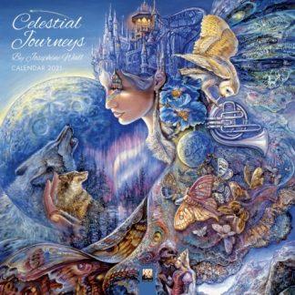 Celestial Journeys by Josephine Wall Calendar 2021