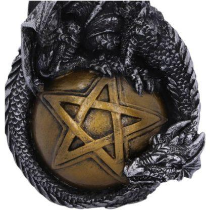 Caspar Dragon Hanging Ornament close-up