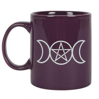 Purple Triple Moon Mug