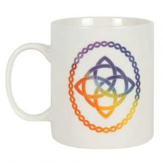 Rainbow Celtic Knot Mug