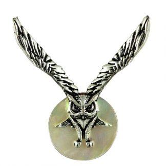 Lammas Moon Owl Necklace