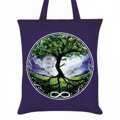 Tree of Life Tote Bag close-up