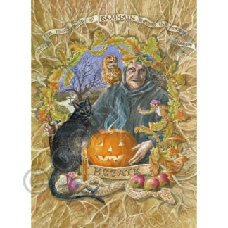 Hecate at Samhain Card